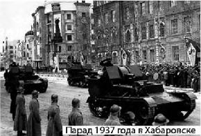 Парад 1937 г. в Хабаровске